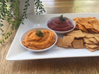 Pumpkin Dip with Sacha Inchi Oil