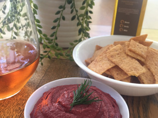 Beetroot Dip with Sacha Inchi Oil