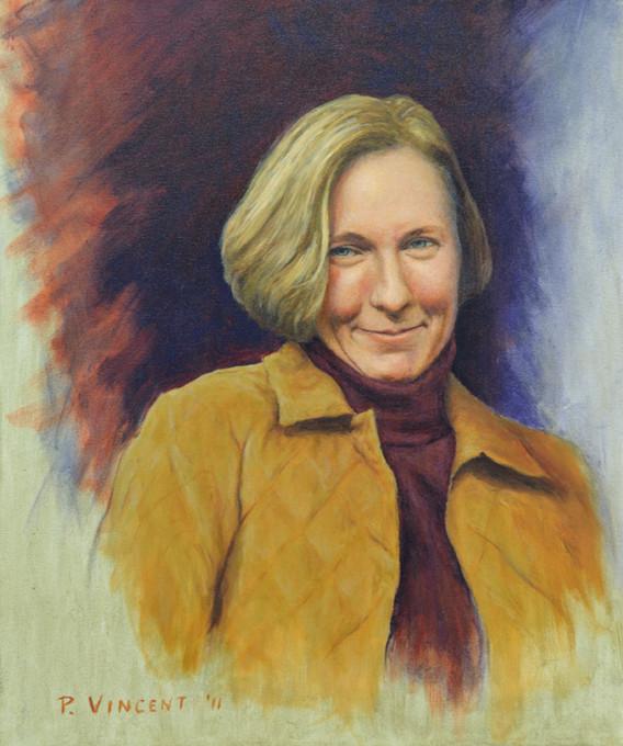 JENNY, Oil on Canvas, 24x20
