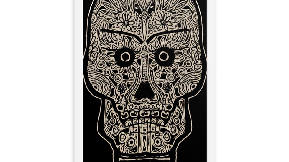 Sugar Skull Calaveras Framed Poster