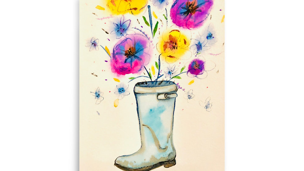 Life is Boot-i-ful Poster