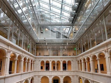 New Fogg Museum Dazzles