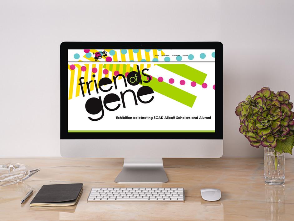 Friends of Gene Desktop Mock Up