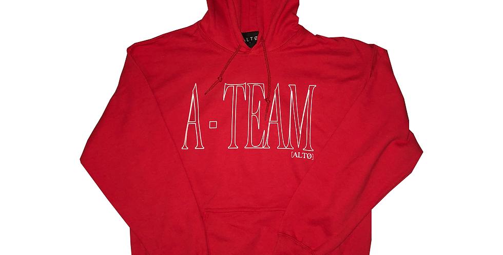 Red A-Team Hoodie