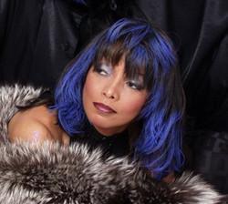 Hazel Blue Hair