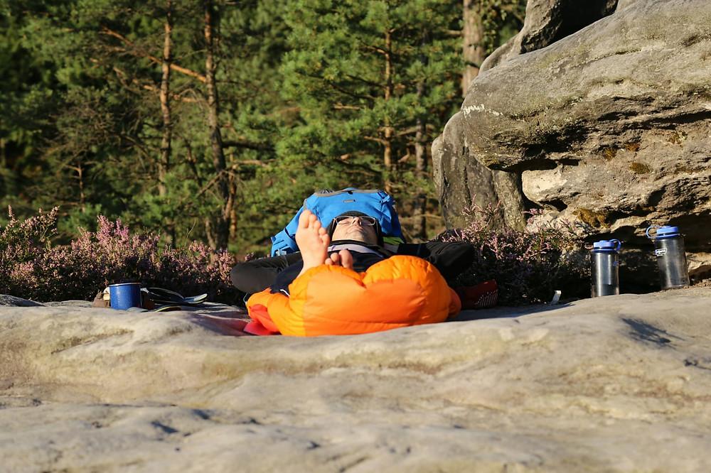 Entspannung, Natur, Gesundheit, Ruhe, Entschleunigung, mentaler Fokus