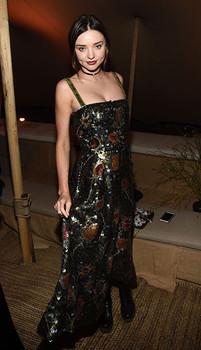 Miranda Kerr Dior Cruise Collection 2018 OPI 'Bubble Bath'