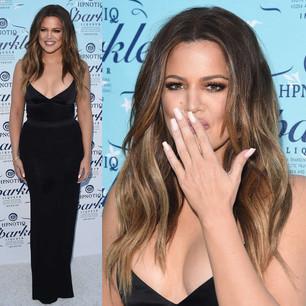 Khloe Kardashian Hpnotiq Sparkle Launch November 2014