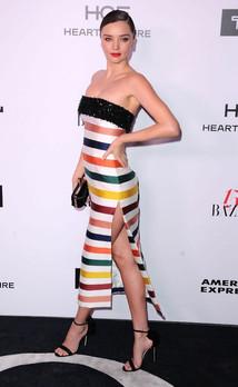 Miranda Kerr Harper's 150 Most Fashionable 2017 OPI 'Bubble Bath'