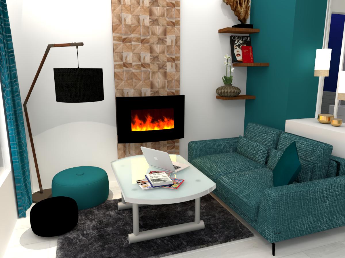 Appartement parisien cosy Salon