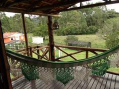 Deck área descanso Casarão