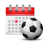 sport-calendar-and-soccer-realistic-foot