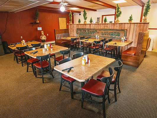 Enjoy a great meal at The Lakehouse!