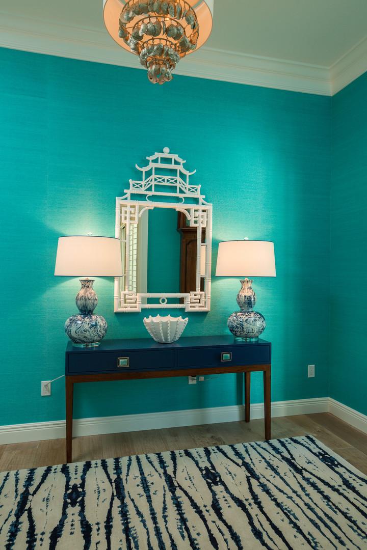 Foyer in Vero Beach by Interior Designer Tiffany Sweeney Decor Envy 02