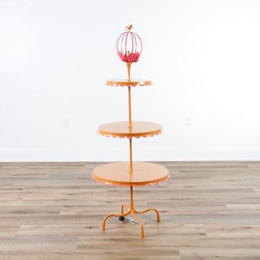 "Wedding Cake Floor Lamp  64""H x 26""D"