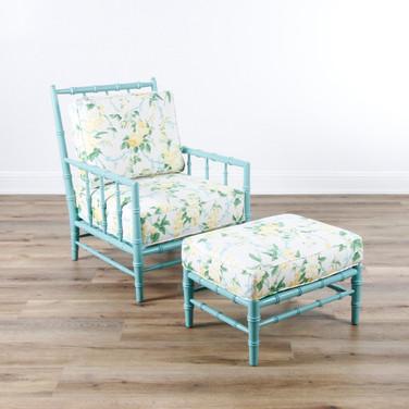 Cottonwood Chair and Ottoman