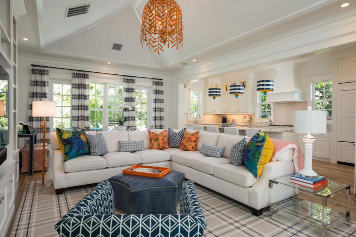 Living Room in Vero Beach by Interior Designer Tiffany Sweeney Decor Envy 08