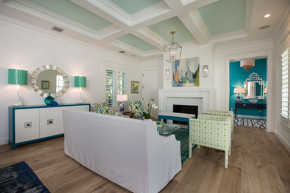 Living Room in Vero Beach by Interior Designer Tiffany Sweeney Decor Envy 06
