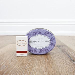 Roman Lavender Candle Tin