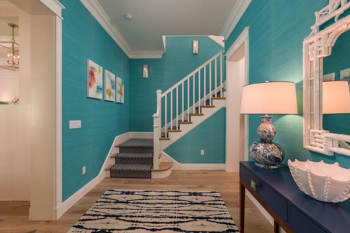 Foyer in Vero Beach by Interior Designer Tiffany Sweeney Decor Envy 01