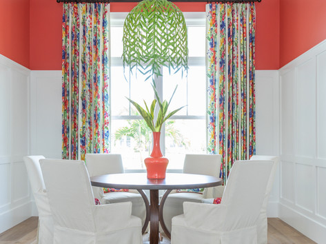 Dining Room by Vero Beach Interior Designer Tiffany Sweeney