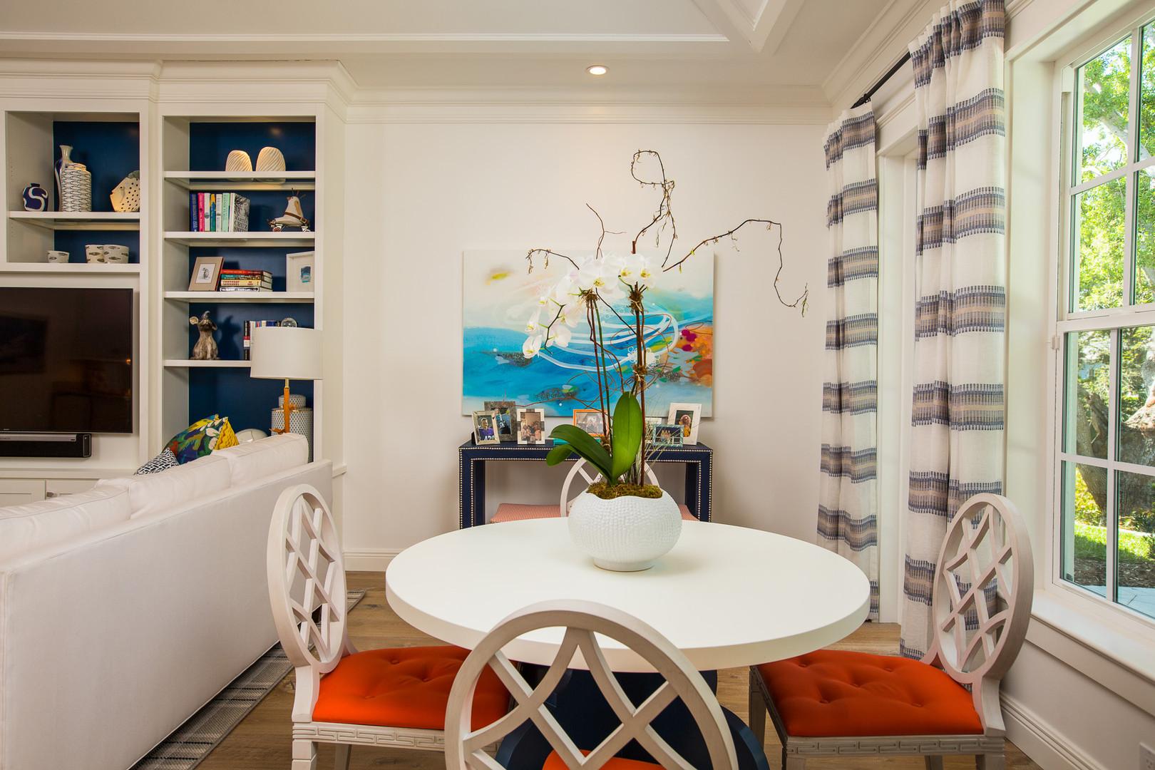 Breakfast Room in Vero Beach by Interior Designer Tiffany Sweeney Decor Envy 10