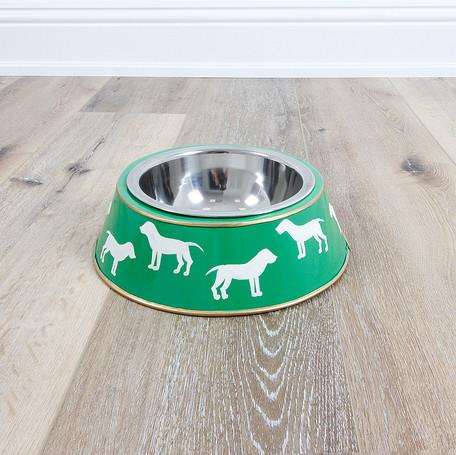 Westminster Green Dog Bowl - Large