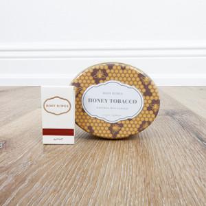 Honey Tobacco Candle Tin