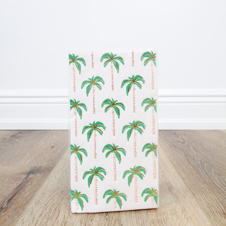 Palm Trees Guest Towel