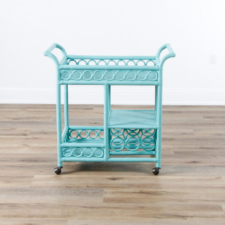 "Circle Bar Cart - Cooled Blue  36"" x 36"" x 17.5"""