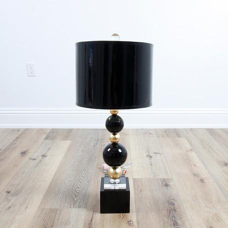 "29"" Sheridan Table Lamp - Black"