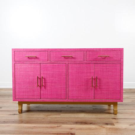"Carmen Credenza - Pink  54""W x 33""H"