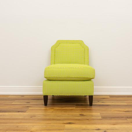 """Luc Slipper Chair  24.5"""" x 31"""" x 33.5"""""""