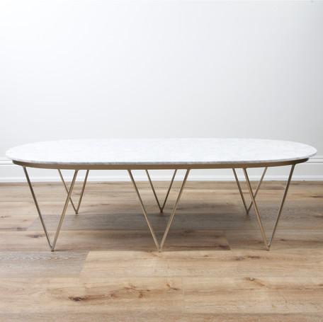 "Surf Coffee Table  58"" x 17"" x 22"""