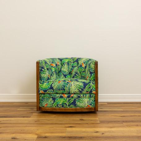 "Everette Swivel Chair   32"" x 34"" x 28"""