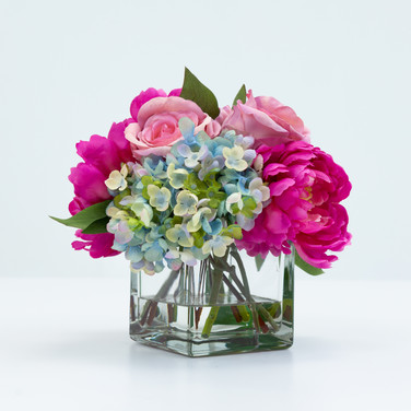 Lavender Rose and Peony Bouquet