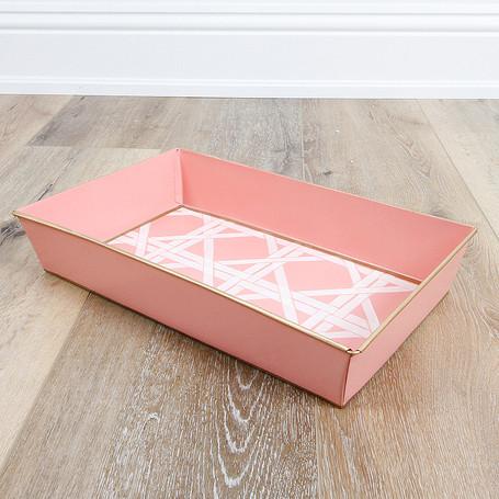 Cane Peach Organizing Tray