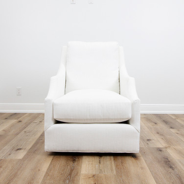 Ford Swivel Chair - White