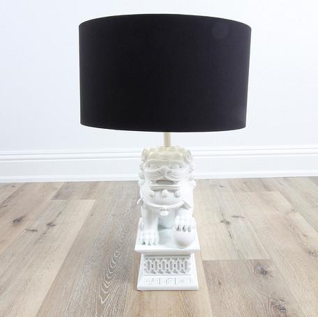 "30"" Foo Dog Table Lamp"