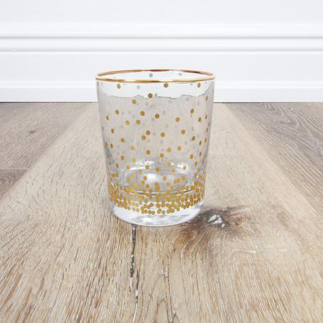 Confetti Dots Highball Glass