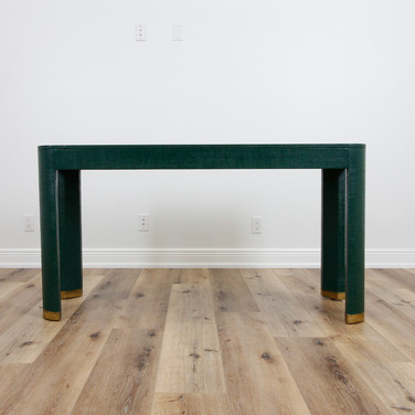 Flannery Console - Hunter Green