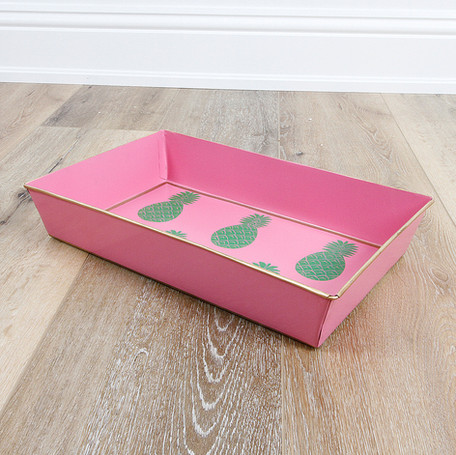 Pineapple Pink Tray