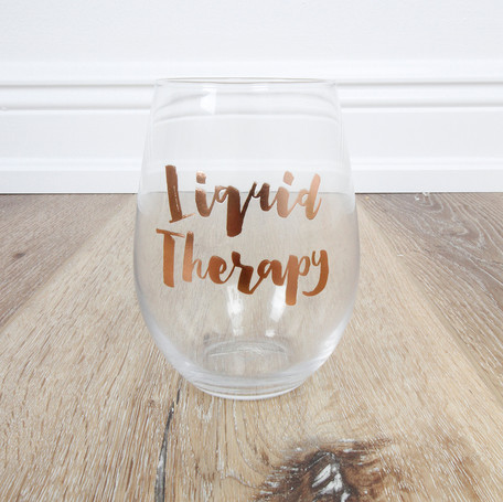 Liquid Therapy Stemless Wineglass