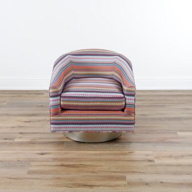 """Mary Jane Swivel Chair  21"""" x 21"""" x 24"""""""