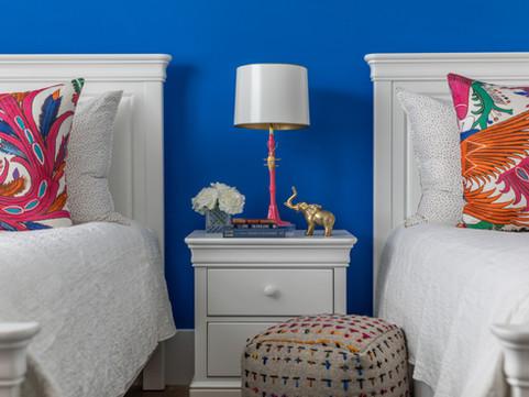 Bedroom by Vero Beach Interior Designer Tiffany Sweeney