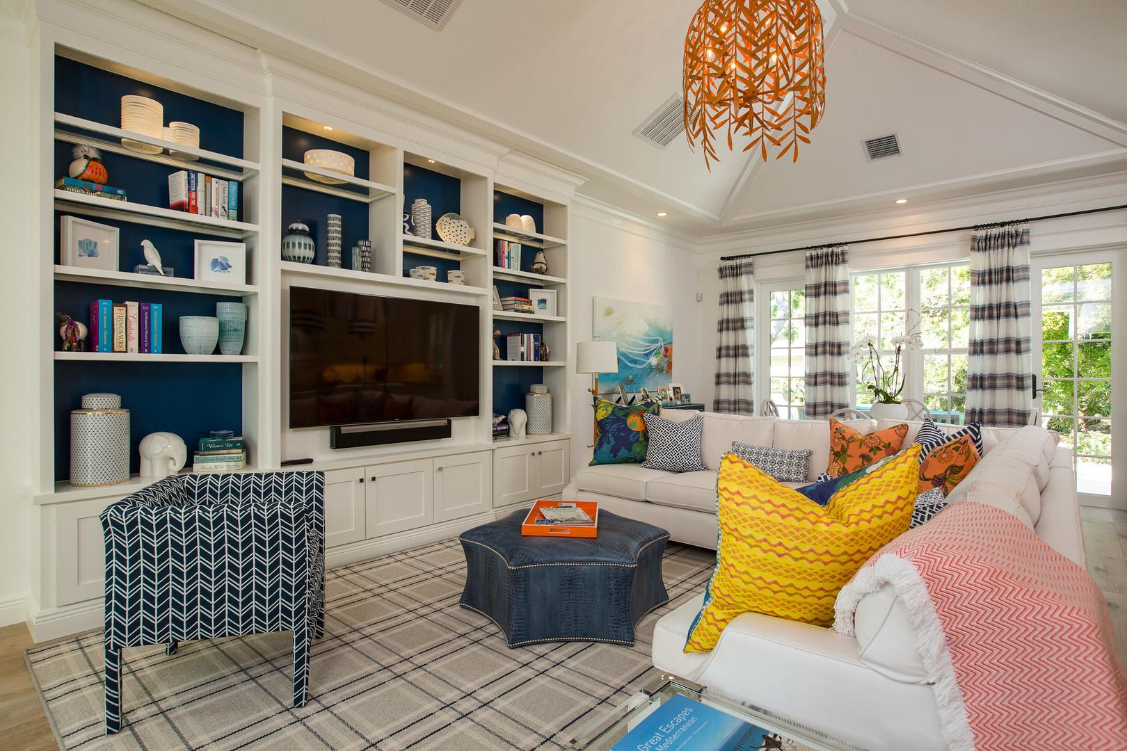 Living Room in Vero Beach by Interior Designer Tiffany Sweeney Decor Envy 09