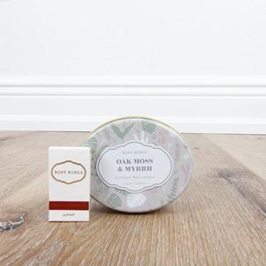 Oak Moss & Myrrh Candle Tin