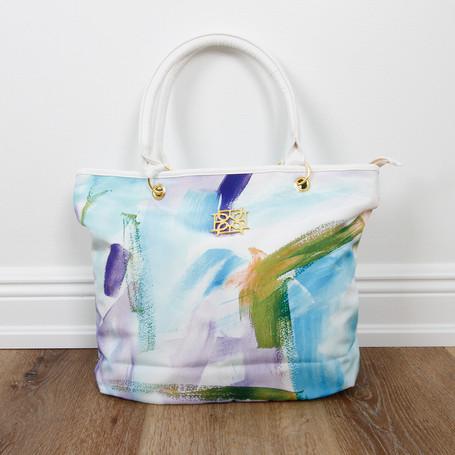 Cotton Candy Blue Bag