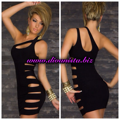Black Slash Dress