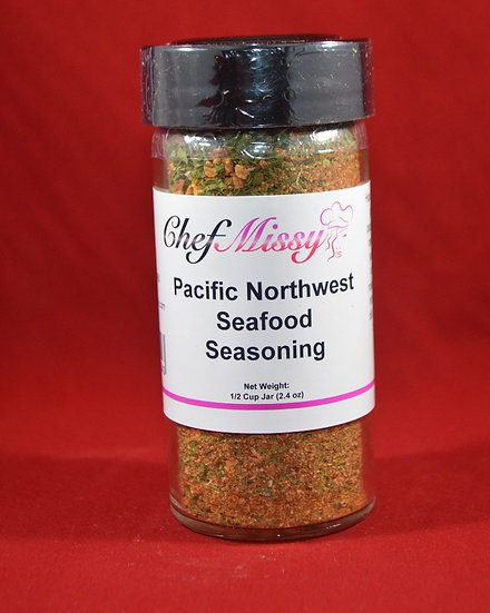 Chef Missy Pacific Northwest Seafood Seasoning